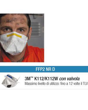 Scatola 10 MASCHERINE K112W FFP2 con valvola 27886