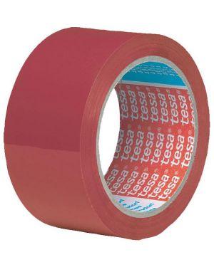 Nastro adesivo pvc 66mtx50mm rosso 4204 tesa 62204-00004-00 51412 A 62204-00004-00