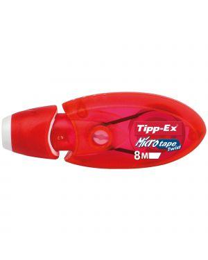 Box 10 correttore a nastro Micro Tape Twist 5mm x 8mt col.ass. Tipp-Ex 8706151 by Tipp-ex