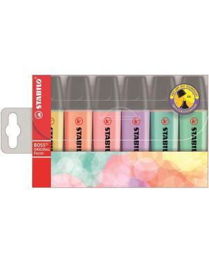 Stabilo boss pastel assortiti Stabilo 70/6-2 4006381492881 70/6-2