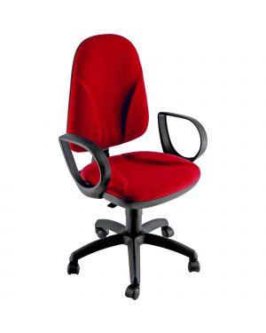 Sedia operativa tmtmi no flame rosso senza braccioli TMTMI/IR 8050043749123 TMTMI/IR by Unisit
