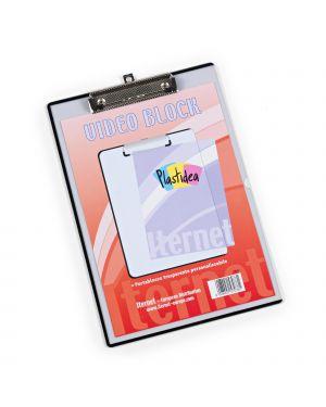 Portablocco a4 personalizzabile in ppl trasparente con molla in metallo 7078 8028422570781 7078 by Iternet