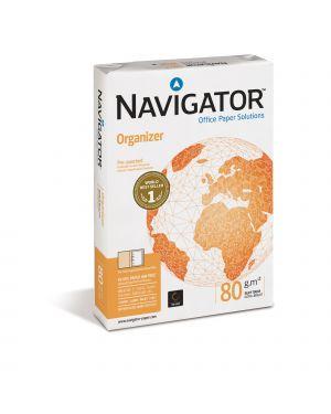 CARTA NAVIGATOR organizer 2 Fori A4 80gr 500FG 210X297mm CONFEZIONE DA 5 NM#P00800210029709 by Navigator