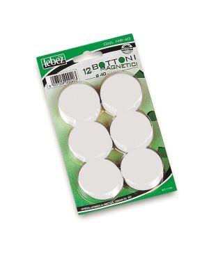 Blister 12 magneti dia40 mm Lebez MR-40-B 8007509002520 MR-40-B
