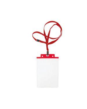 Portanome c - cord. antisoffocam. sei pass 6 s+1p cm.10x15 pz.10 rosso SEI ROTA 31841612 8004972025230 31841612
