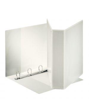 Raccoglitore display maxi 22x30cm 4q h65mm bianco personalizzabile esselte 394758000 8004157475805 394758000