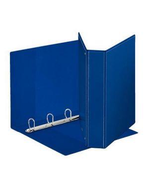 Raccoglitore display maxi 22x30cm 4d h50mm blu personalizzabile esselte 394754500 8004157475454 394754500