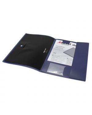 Cartellina meeting dox blu 21.5x31cm D1600046