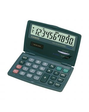 Calcolatrice sl-210 te 10 cifre tascabile casio SL-210TE-SA-EC 4971850132011 SL-210TE-SA-EC