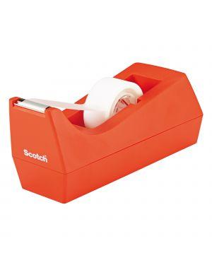 Dispenser c 38 arancio + 1 rt scotch magic 810 19mmx8,89mt 16187