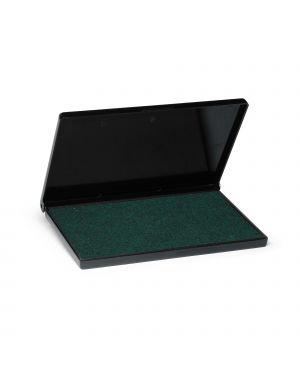 Cuscinetto 7x11cm verde per timbri in gomma 9052 trodat 56345.
