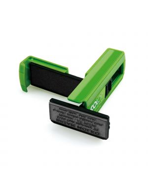 Timbro pocket stamp plus 30 18x47mm 5righe autoinchiostrante verde colop PSP30VE 9004362494515 PSP30VE by Colop