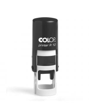 Timbro Printer R12 diametro 12mm personalizzabile autoinchiostrante COLOP PRINTER R12