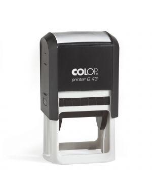 Timbro printer q43 43mm quadrato autoinchiostrante colop PRINTER.Q43
