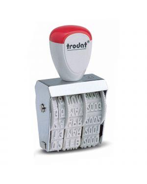 Timbro 1010 manuale datario 4mm trodat 54175. 9008056017707 54175. by Trodat