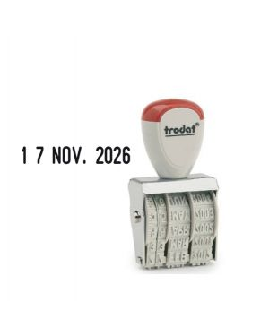 Timbro 1020 manuale datario 5mm trodat 54239. 9008056860006 54239. by Trodat