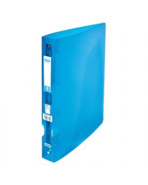 Raccoglitore hawai 26x32cm (4anelli da 30mm) blu in pp favorit 100201755