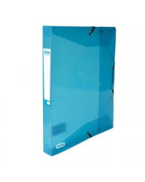 Cartella c/ elastico hawai dorso 2,5cm 24x32 blu 100200551