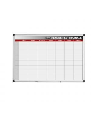 Planner magnetico settimanale 90x60cm bi-office GA03266170 5603750070436 GA03266170 by Bi-office