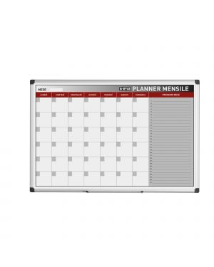 Planner magnetico mensile 90x60cm bi-office GA03267170 5603750070443 GA03267170 by Bi-office