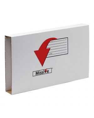 Scatola postale missive 35x25x7,5cm fellowes CONFEZIONE DA 10 7272902
