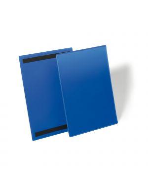 50 buste identificazione magnetiche 210x297mm (a4-vert.) art.1744 blu durable 1744-07 4005546109039 1744-07