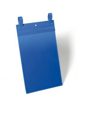 50 buste identificazione con fascette 210x297mm (a4-vert.) art.1750 blu durable 1750-07 4005546109091 1750-07
