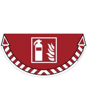 """Adesivo segnalatore da terra """"estintore"""" 70x35cm take care cep 7010-18 3462159009186 7010-18"""