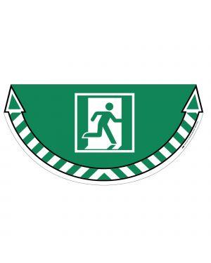 """Adesivo segnalatore da terra """"uscita emergenza"""" 70x35cm take care cep 7010-20 3462159009247 7010-20"""