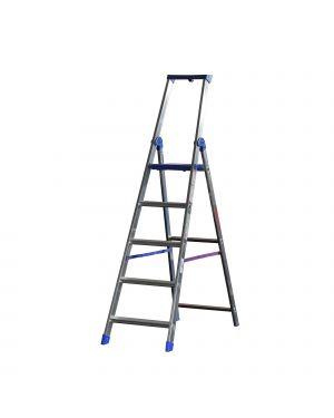 Scala alluminio professionale 5 gradini climb evolution 20874 8021227006301 20874