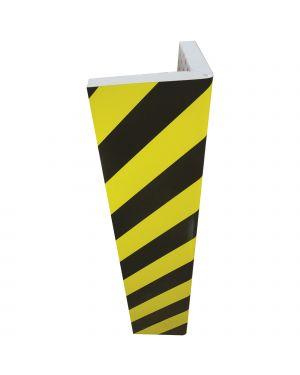 Paracolpi angolare in gomma nbr l30 x h73cm giallo - nero PGV7325 8008076673250 PGV7325