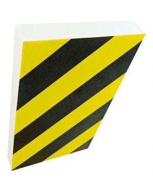 Paracolpi a foglio in gomma nbr l100 x h150cm giallo - nero PGV1502 8008076715028 PGV1502