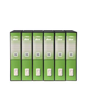 Registratore dox 2 greenergy dorso 8cm f.to protocollo rexel D26226
