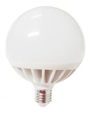 Lampada led globo 120 24w e27 6000k luce bianca fredda 499048345 8006012340051 499048345 by Mkc
