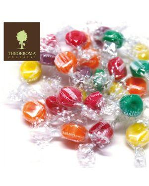 Caramelle mini diamantina gusti frutta busta 2kg theobroma THDI 8003305002436 THDI