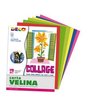 Album di carta velina 24fg 24x34cm colori assortiti cwr 706/24 8004957008227 706/24
