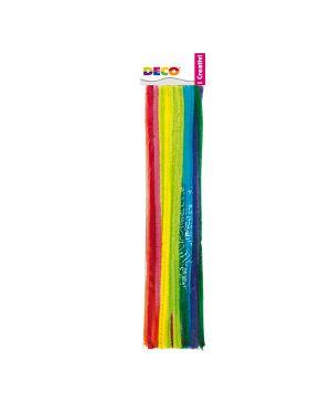Ciniglia animata stelo da 9mm in colori assortiti busta da 30 fili deco 1705/G 8004957027471 1705/G by Cwr