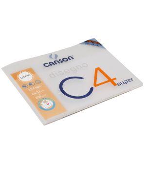 Album C4 c/copertina in ppl carta da disegno 24x33cm 200gr 20fg liscio Canson CONFEZIONE DA 10 400048297 by Canson