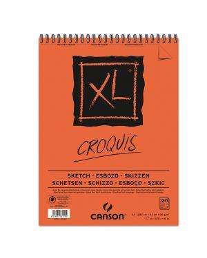 Album xl croquis a3 90gr 120fg canson CONFEZIONE DA 5 200787115