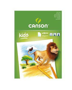 Album little kids 2+ f.to a4 90gr 30fg canson CONFEZIONE DA 5 40015583