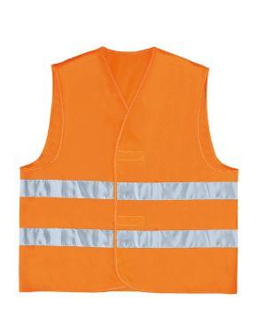 Gilet alta visibilita' arancio fluo tg. xxl GILP2OR-XX 3295249157043 GILP2OR-XX