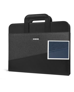 Portablocco citytime c/manici rientranti 28,5x35,5cm blu niji 61265