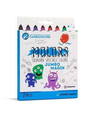 Astuccio 8 pennarelli colorati magik molors osama OW 12045 8007404243448 OW 12045