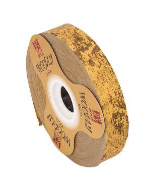 Rotolo nastro Woodly Corteggia 24mmx100mt marrone chiaro Bolis 51282421028