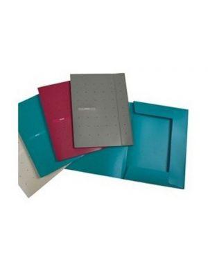 Cartellina 3 lembi matrix con elastico dorso 1 blu ottanio FAVORIT 400101761 8006779006597 400101761