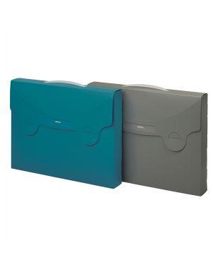 Valigetta porta documenti matrix blu ottanio 38x29cm favorit 400102280 8006779008553 400102280
