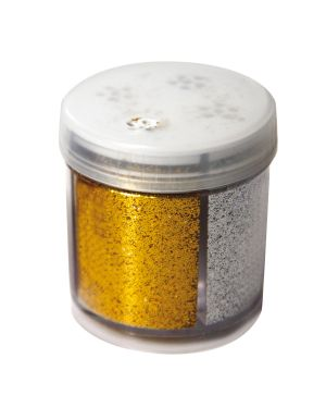 Glitter dispenser grana fine 40ml 4 colori assortiti cwr 11451 8004957114515 11451