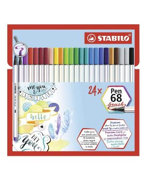 stabilo pen68 brush ass cbwlt Stabilo 568/24-21 4006381561068 568/24-21