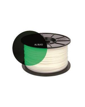 Bobina pla fosforescente verde Hamlet HP3DXPLAW2GF 8000130591111 HP3DXPLAW2GF