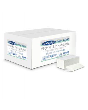 Pacco da 210 asciugamani piegati a v goffrato micro comfort bulkysoft 84550 82482 A 84550 by No